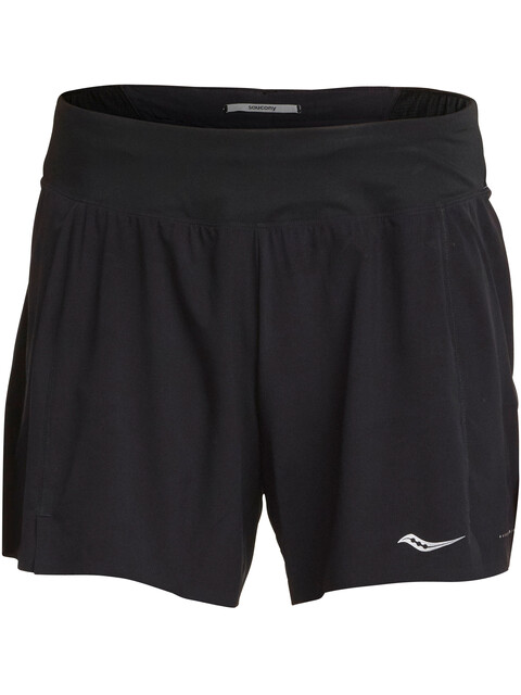 "saucony Tranquil 5"" Shorts Women Black"